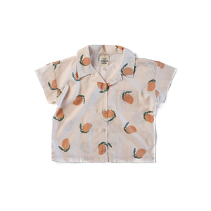 Mangoes Boxy Button Up