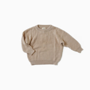 Milk Boxy Knit Sweater