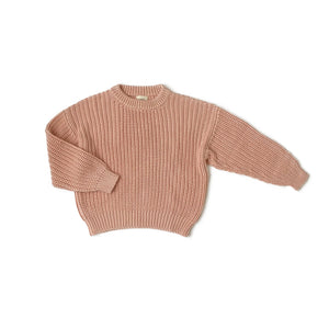 Peach Knit Sweater