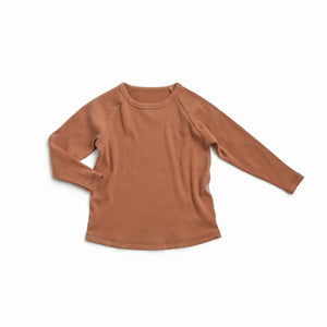 Copper Ribbed Top