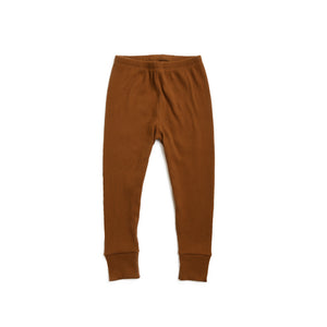 Russet Ribbed Leggings