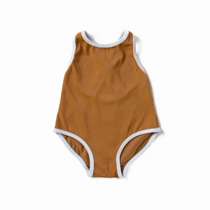 Rust Crossback Swimsuit