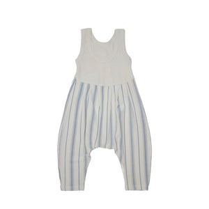 Santorini Stripe Bubble Romper