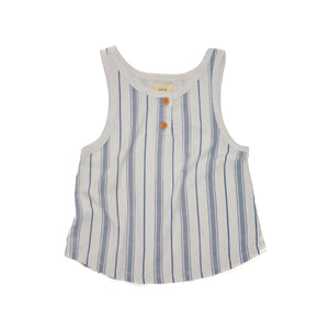 Santorini Stripe Tank Top