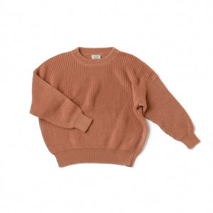 Sunset Boxy Knit Sweater