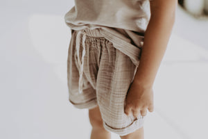 Taupe Breeze Shorts