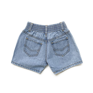 Indigo Wash Denim Shorts