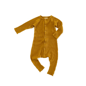 Mustard Thermal Romper
