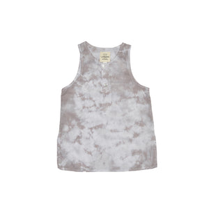 Gray Cloud Kurta Tank Top