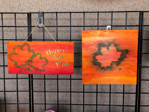 Happy Fall Y'all Wooden Sign Class
