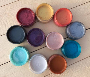 Metallic Paint Pots