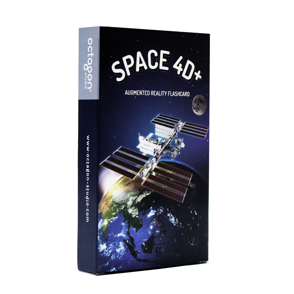 [PRODUCT UPDATE] New 26 - cards Space 4D+ Flashcards