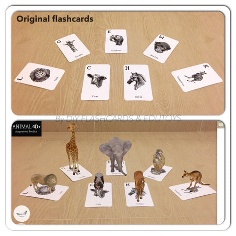 (ARTICLE) Variation of activities using Animal 4D Flashcards