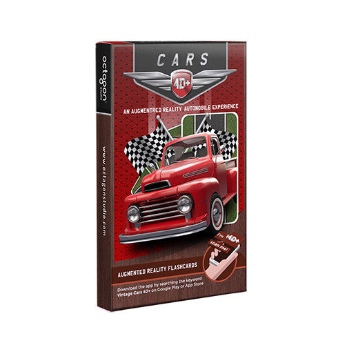Cars 4D Flashcards