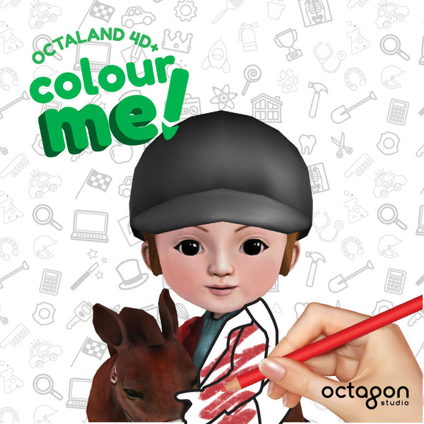 Octaland Color Me ! Book