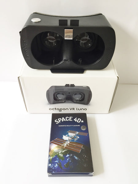 Space 4D Flashcards & Octagon VR Luna - DIY Flashcards & Edutoys Singapore