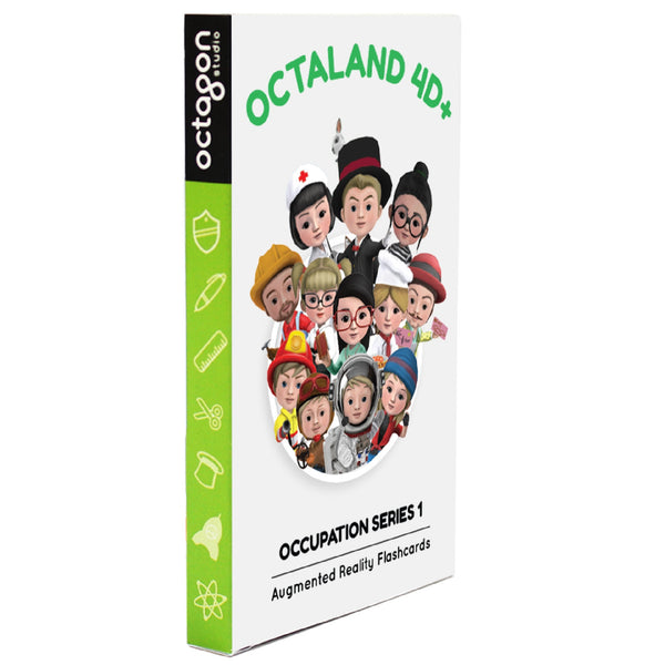 Octaland 4D Flashcards - DIY Flashcards & Edutoys Singapore