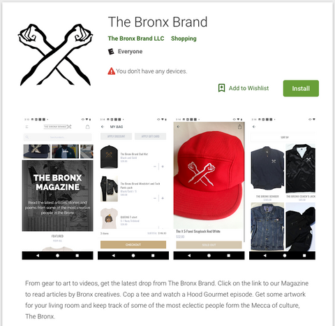 The Bronx Brand App Android Bronx Native From The Bronx Bronx Narratives This is The Bronx