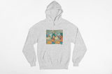 Subway Stare Hoodie by Andrew Peña