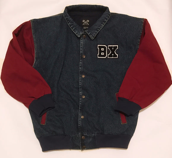 The Bronx Denim Varsity Jacket - The Bronx Brand