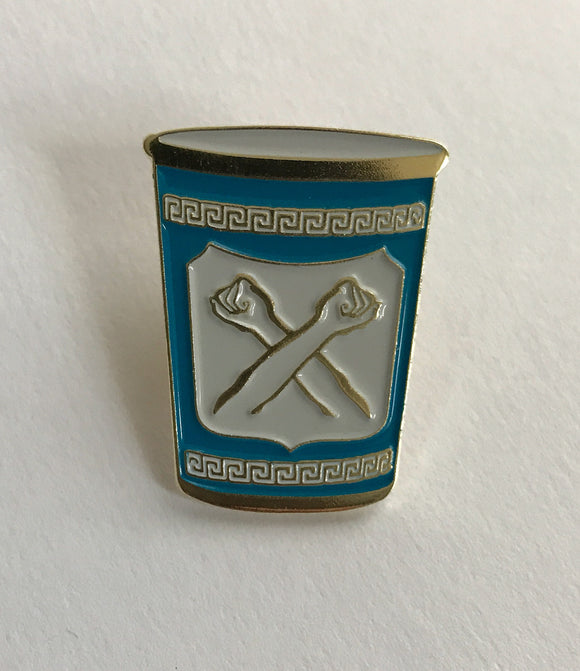 New York City Coffee Cup Pin - The Bronx Brand