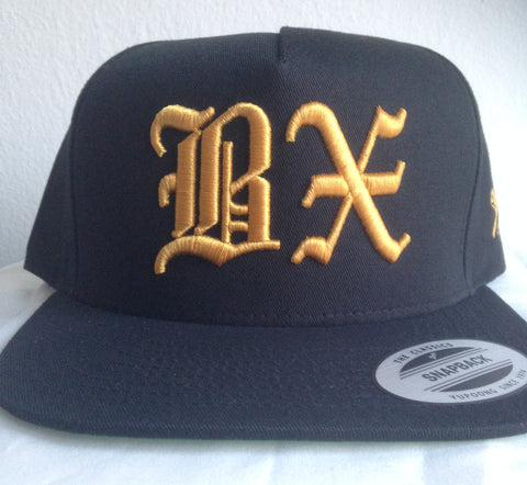 BX Old English Snapback - The Bronx Brand - Hats - The Bronx Brand - 1