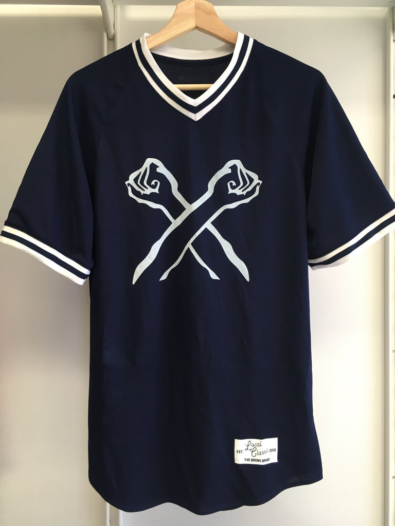 The Bronx Retro Baseball Jersey | The Bronx Brand