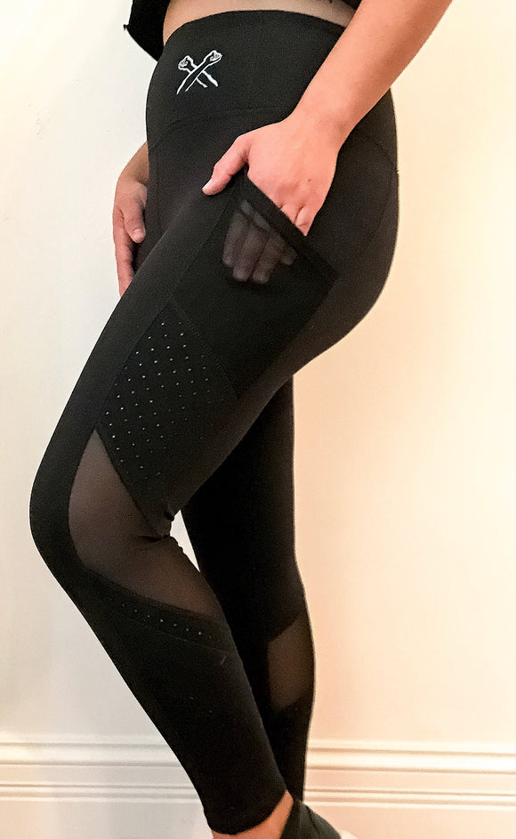 The X Leggings - The Bronx Brand