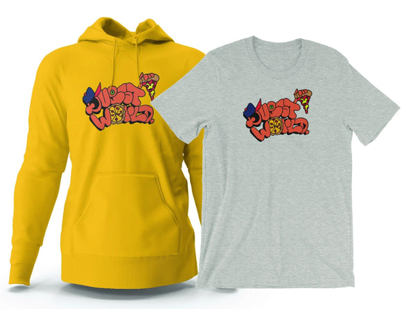 Quest World Tee and Hoodie Pack - The Bronx Brand