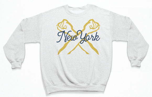 New York Spell Out Sweatshirt | The Bronx Brand