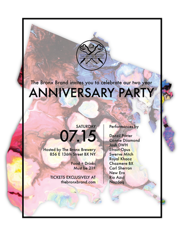 The Bronx Brand 2 Year Anniversary Party