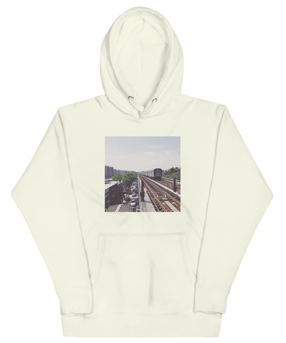 Pelham Parkway Photo Hoodie | The Bronx Brand