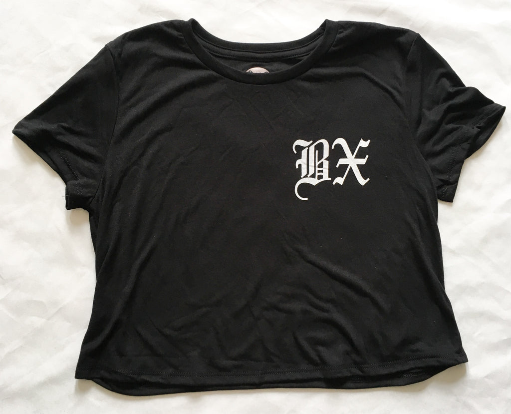 BX Old English Crop Top | The Bronx Brand