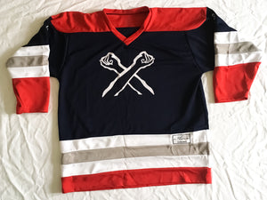 The X Hockey Jersey | The Bronx Brand - The Bronx Brand