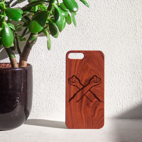 The Bronx Brand Rosewood iPhone Case