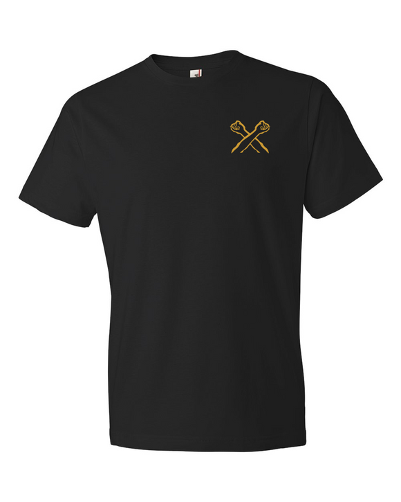 The Bronx Brand Logo - Crossed Arms Tee - The Bronx Brand