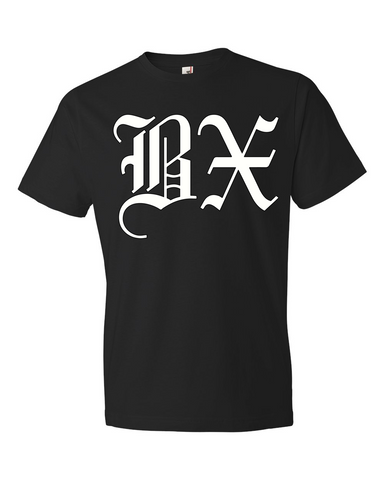 Old English BX T-Shirt - The BX Tee - The Bronx Brand - T Shirt Tee BX Bronx Clothing From The Bronx Bronx Native The Get Down