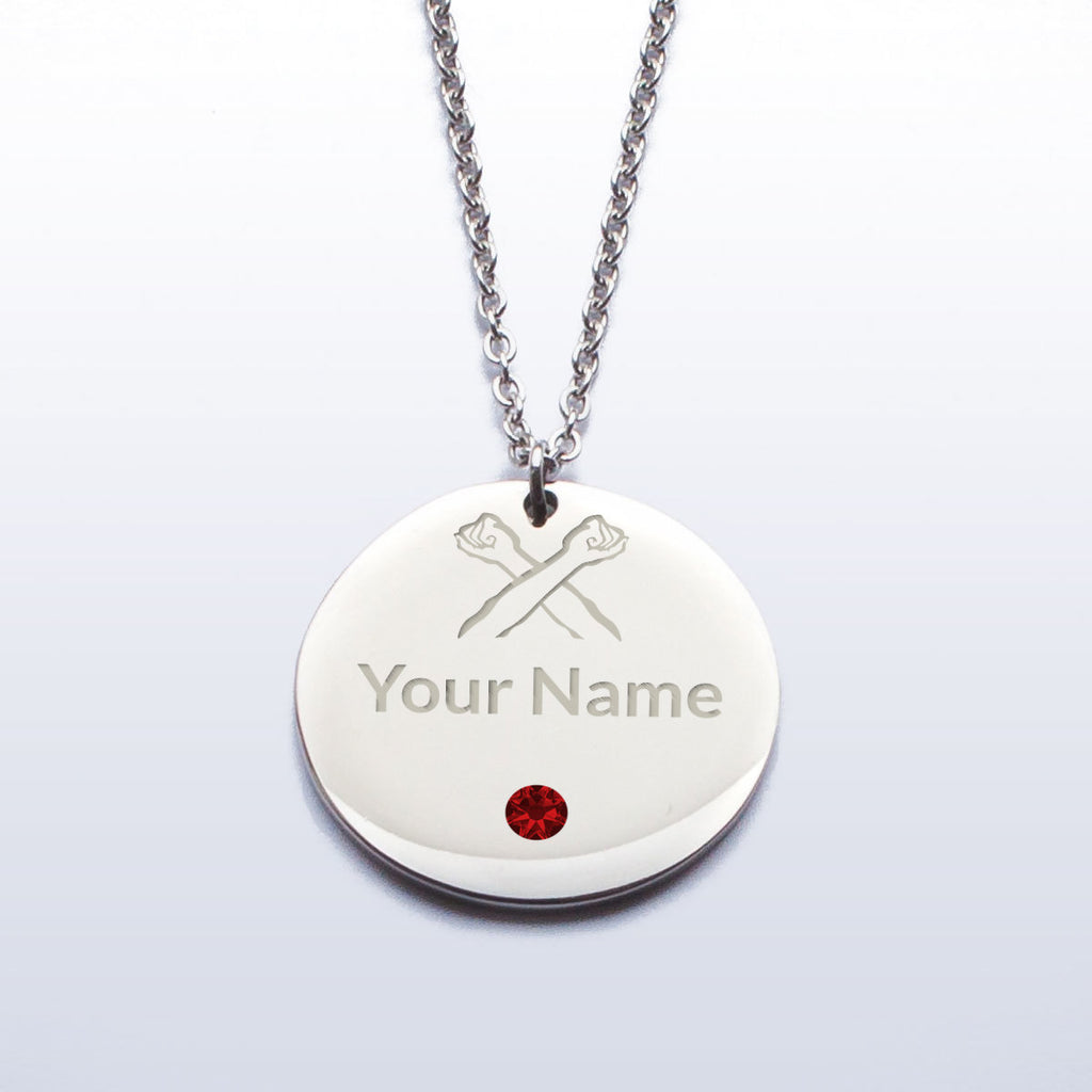 The Bronx Brand Custom Birthstone Pendant
