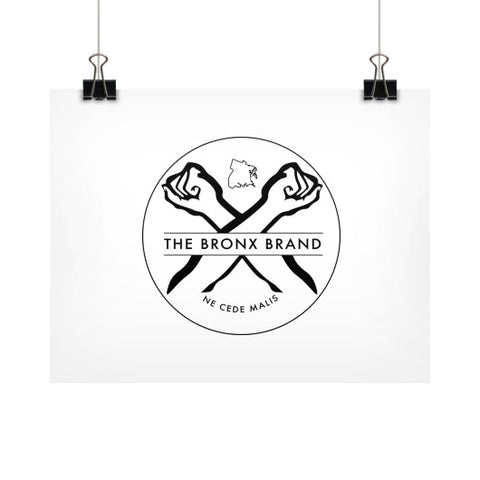 Horizontal Fine Art Prints (Posters) - The Bronx Brand - Poster BX Bronx Clothing From The Bronx Bronx Native The Get Down Bronx Art