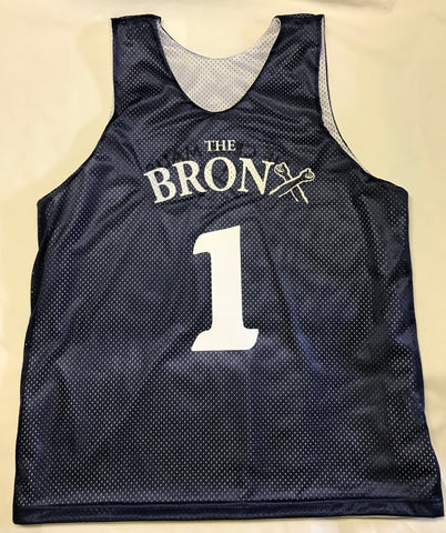 The Bronx Basketball Jersey NYC Los Angeles The Bronx Native Chicago Brand Pullover Crewneck