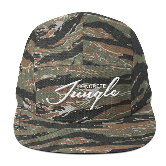 Concrete Jungle Five Panel Cap - The Bronx Brand