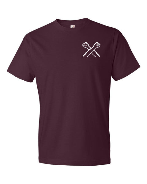 The Bronx Brand Logo - Crossed Arms Tee - The Bronx Brand - T-Shirt - The Bronx Brand BX Bronx Clothing From The Bronx Bronx Native The Get Down Hip Hop