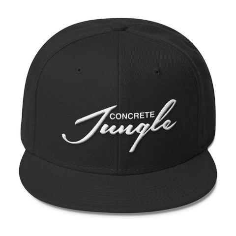 Concrete Jungle Wool Blend Snapback