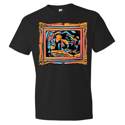 Pizza Art Short sleeve t-shirt - The Bronx Brand -  - Johnny Cage aka Death Quest Bronx Art BX Bronx Clothing From The Bronx Bronx Native The Get Down