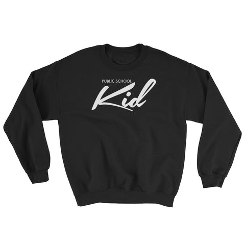 Public School Kid Sweatshirt NYC Los Angeles The Bronx Native Chicago Brand Pullover Crewneck
