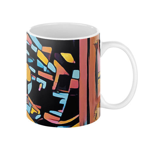 Pizza Art Coffee Mug
