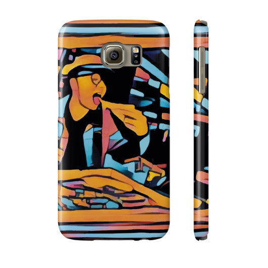 Pizza Art Phone Case - The Bronx Brand - Phone Case - Johnny Cage aka Death Quest Bronx Art BX Bronx Clothing From The Bronx Bronx Native The Get Down Hip Hop