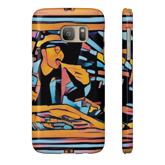 Pizza Art Phone Case - The Bronx Brand - Phone Case - Johnny Cage aka Death Quest - 13