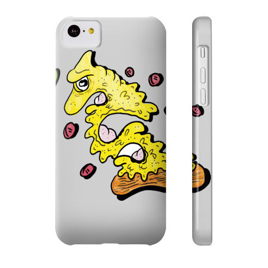 Pizza Monster Phone Case - The Bronx Brand - Phone Case - Johnny Cage aka Death Quest BX Bronx Clothing From The Bronx Bronx Native The Get Down Hip Hop