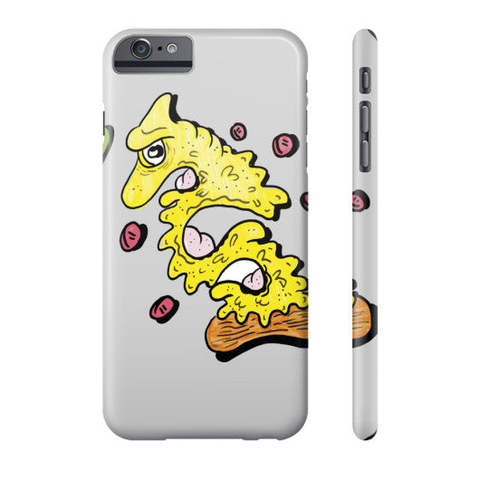 Pizza Monster Phone Case - The Bronx Brand - Phone Case - Johnny Cage aka Death Quest BX Bronx Clothing From The Bronx Bronx Native The Get Down
